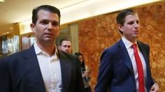 Image copyright                  Getty Images                                                                          Image caption                                      Trump dijo que pondrá a sus hijos Donald Jr. y Eric a cargo de sus negocios, pero algunos críticos afirman que esa medida no es suficiente salvaguarda.                                Donald Tr
