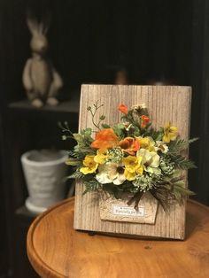 Image of K & # nuts diary Flower Frame, Flower Boxes, Flower Cards, Diy Flowers, Flower Decorations, Paper Flowers, Mason Jar Sconce, Hanging Mason Jars, Rustic Mason Jars
