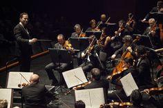 28 Febbraio 2015. Concerto diretto da Nikolaj Znaider con l'Orchestra del Maggio Musicale Fiorentino. © Pietro Paolini / Terraproject / contrasto