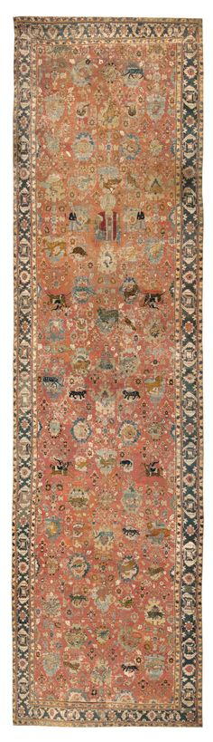 Antique 17th Century Esfahan Persian Rug #3025  http://nazmiyalantiquerugs.com/antique-rugs/persian-antique-rugs/