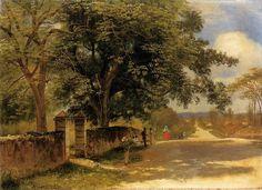 latest addition Bierstadt Albert Street in Nassau 1878
