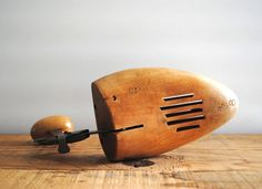 Vintage Wooden Shoe Stretchers - Pair of Wood Shoe Forms via Wood And Metal, Solid Wood, Shoe Stretcher, Wooden Shoe, Office Items, Shoe Last, Sale 50, Vintage Shoes, Etsy Vintage