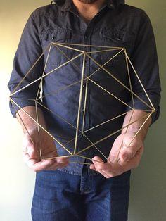 XL geometric shape by NiftyNeat on Etsy