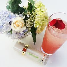 Warm summer days, Rose Hip Revitalizing Serum and a cold Saketini- it doesn't get much better than that. Thank you @spacenkusa for sharing this photo from our August launch event at @clayhealthclub!