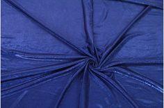 524ff0c96cfe Lamé pletenina se vzorem v královské modři - Terry móda - Prodej látek  online