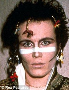 adam ant makeup - Google Search