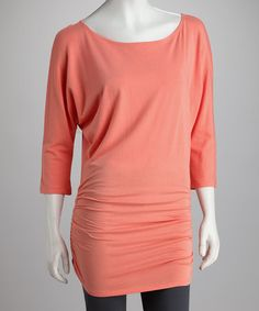 Take a look at this Romance Dolman Tunic by Women's Blow-Out Sale on #zulily today!