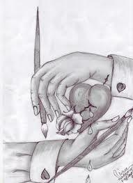 desene in creion inimioare - Căutare Google