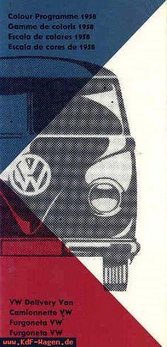 VW - 1957 - Colour Programme 1958 - w 2/61 a (?) - [8070]-1