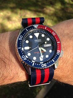 My own 009 on NATO strap.  Photo by Charles Contant.