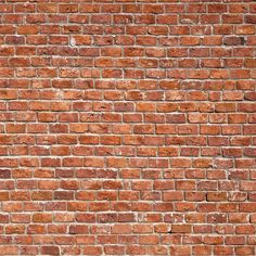 red brick wall Brick Texture, Tiles Texture, Wall Texture Design, Wall Exterior, Exterior House Colors, Wallpaper Texture, Red Brick Wallpaper, Brick Wallpaper Iphone, Brick Pattern Wallpaper
