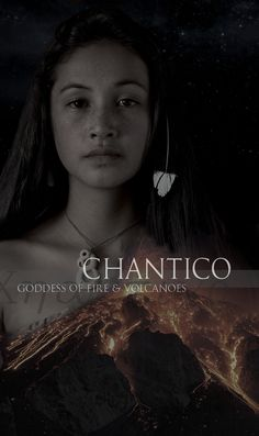 Chantico - Aztec - referred to as She Who Dwells in the House, was the goddess of fires, volcanoes, and treasured items. Men that left their families to join battles prayed to her in hopes that they would return home to hearty fires. World Mythology, Greek Mythology, Unique Names, Cool Names, Name Inspiration, Character Inspiration, Mythological Creatures, Mythical Creatures, Mexican Gods