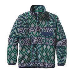Patagonia M\'s Synchilla\u00AE Snap-T\u00AE Fleece Pullover - Montana Siete: Feather Grey MSFG