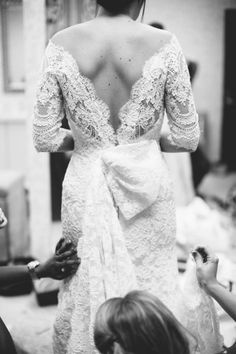 stunning back on this dress custom made by https://www.facebook.com/nardos.imam Photography by Taylor Lord Photography / taylorlord.com