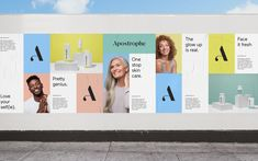 Brand New: New Name, Logo, and Identity for Apostrophe by Character – Pin's Page Logo And Identity, Corporate Identity, Identity Design, Visual Identity, Brand Identity, Brochure Design, Corporate Design, Logo Branding, Name Logo