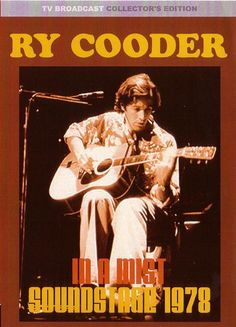 """Ryland Peter """"Ry"""" Cooder is known for his slide guitar work, his interest in roots music from the United States, and, more recently, his collaborations with traditional musicians from many countries. His 1979 album 'Bop Till You Drop' was the first popular music album to be recorded digitally. It yielded his biggest hit, a cover version of Elvis Presley's 1960s recording """"Little Sister"""". He was ranked eighth on Rolling Stone magazine's 2003 list of """"The 100 Greatest Guitarists of All Time""""."""