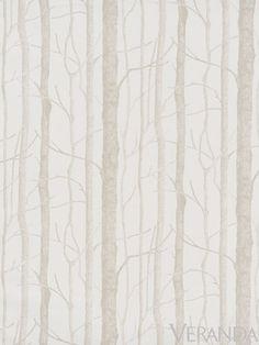 Cowtan and Tout birch wallpaper