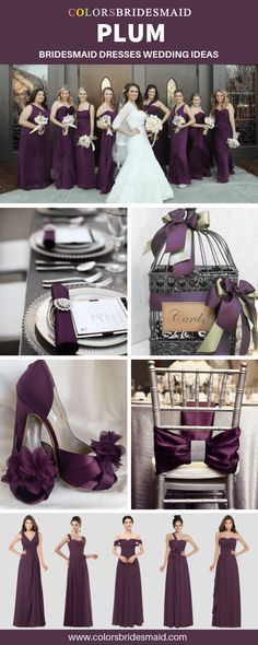 41 trendy wedding colors purple and gray plums bridesmaid dresses Dark Grey Weddings, Dark Purple Wedding, Plum Wedding, Wedding Colors, Wedding Card, Trendy Wedding, Wedding Wedges, Fall Wedding, Wedding Ideas