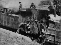 Spain - 1936-39. - GC - blindado feroviaria