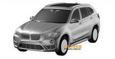 В сеть попали изображения удлиненной версии BMW X1, который готовится поступить в продаже на китайском рынке. Картинки «утекли» из патентного бюро. Судя по ним, увеличение длины будет достигнуто за счет вставки в области ног задних пассажиров, корма при этом не изменится. #кроссоверы #внедорожники #тестдрайвы #осень #bmw #x1