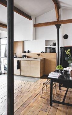 Råt og minimalistisk tagloft | Boligmagasinet.dk
