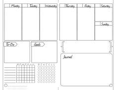 Bullet Journal Printable Pages List Of Bullet Journal Pages, Bullet Journal Printables, Bullet Journal Notebook, Journal Template, Bullet Journal Spread, Bullet Journal Inspiration, Bujo, Planner Pages, Life Planner