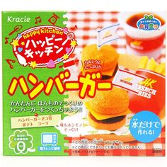 DIY set Happy Kitchen for gummy candy burger, French Fries and drink from Japan Japanese Snacks, Japanese Candy, Japanese Food, Candy Recipes, Gourmet Recipes, Funny Candy, Happy Kitchen, Tiny Food, Modes4u
