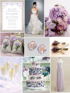 Navy & Lavender Inspiration Board: Lavender Love   Our Finest Wedding Ideas & Planning Advice