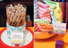 Pretzels con sprinkles! / Pretzels with sprinkles!