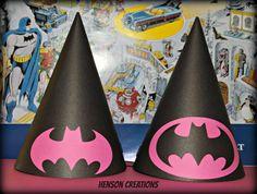 10 girly batman batgirl Inspired Birthday by HensonCreations
