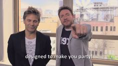 Simon & Roger aim to party      [x]       More like designed to make me throw all my money into a fire.