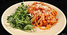 Pasta All'Amatriciana -- easy but delicious authentic Italian pasta recipe.