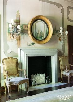 Design by Melanie Turner and Cristi Rajevac; Melanie Turner Interiors | Photographed by Erica George Dines | Atlanta Homes & Lifestyles |