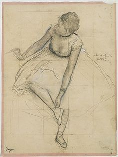Degas Ballerinas: Bringing together two of my favorite art forms.
