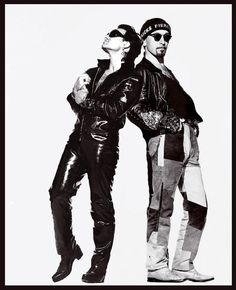 U2 ~ Bono as The Fly and The Edge, Achtung Baby era