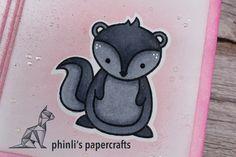 lawn fawn cutie card «you're stinkin' cute Lawn Fawn, Cute Cards, Cardmaking, Friendship, Paper Crafts, Making Cards, Pretty Cards, Paper Craft Work, Papercraft