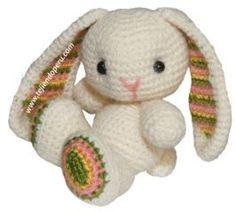 Tutorial: conejito tejido a crochet (amigurumi bunny / easter)
