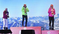 Gabriela Koukalová na ceremoniálu po stíhačce Flat Screen, Bronze, Sport, Blood Plasma, Deporte, Flatscreen, Sports