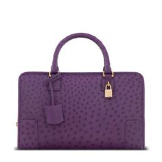 Loewe amazona bag violet