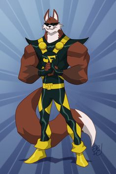 Fox Fury Commission by EricGuzman.deviantart.com on @deviantART