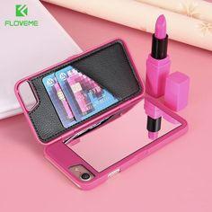 232fe4476b0 Luxury Mirror Case For iPhone 6 6s Plus 7 7 Plus Samsung Galaxy S7 S7 Edge  S8 S8 Plus