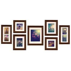 NielsenBainbridge Gallery 7 Piece Portrait Picture Frame Set & Reviews | Wayfair