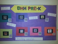 Our principal asked us to create a bulletin board that not only informed parents and visitors about what we are learning but also emphasized that we are a science and technology magnet school. We used Toca Boca Hair Salon to make images of ourselves and made videos using Educreations which will play when the QR code is scanned.