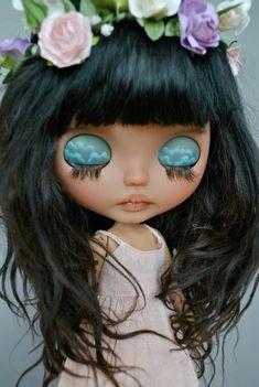 Minnie, Cute Dolls, Blythe Dolls, Beautiful Dolls, Pink, Big Eyes, Baby Dolls, Beauty, Coloring