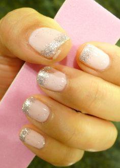 Granola To Glam: First DIY Gelish Manicure (Shellac type polish). Gelish Pink Smoothie