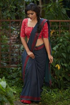 Saree as a glamorous garment.