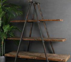 steel trestle shelves