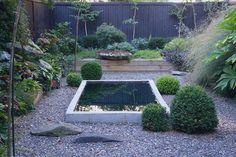 James Golden. His Brooklyn backyard garden. NY, USA.