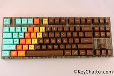 GALLERY: Hydro-Dipped Novatouch with 1976 Keycaps – KeyChatter.com – Mechanical Keyboard Reviews, News, Buyer's Guide, and more