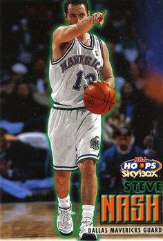 a5737f10a RARE 99 00 SKYBOX NBA HOOPS STEVE NASH DALLAS MAVERICKS MINT   DallasMavericks